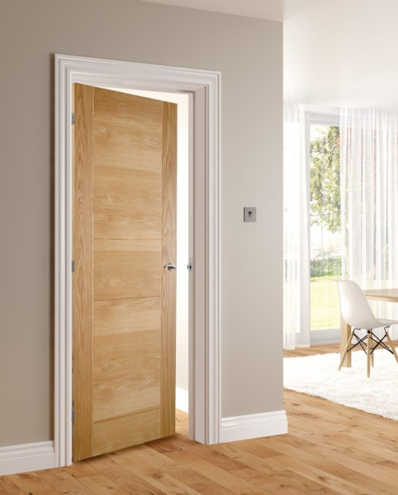 Hp12 Solid Oak Door Fitwell Doors And Floors