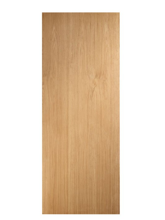 Flush oak door