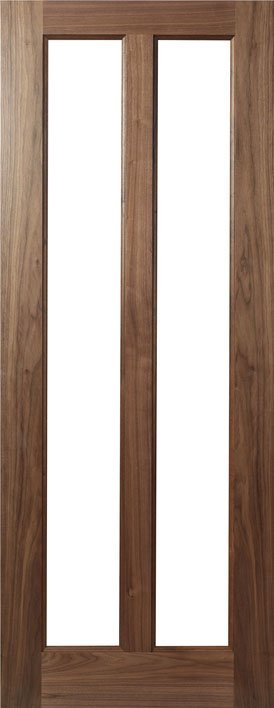 HP17g Walnut and Glass Door