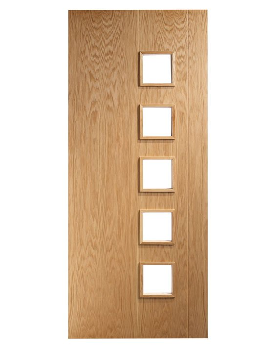 HP19G oak and Glass door