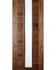hp16g walnut and glass door