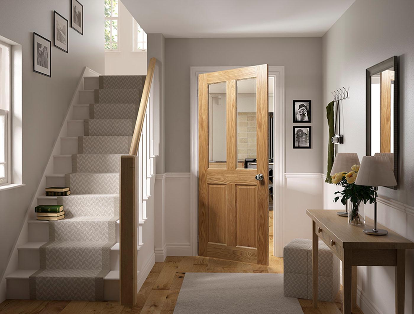 Nm4g Oak And Glass Door Fitwell Doors And Floors