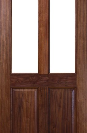 NM2G WALNUT and Glass Door