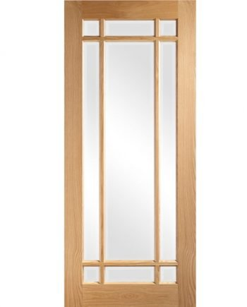 nm5g oak and glass door