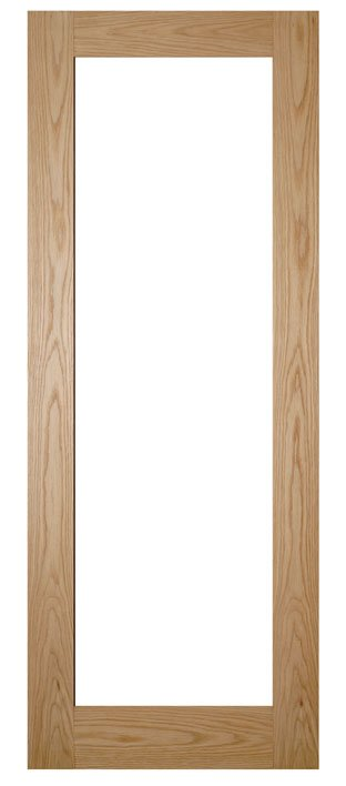 nm6g oak and glass door
